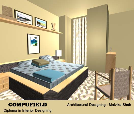 Students Interior Designs Gallery Using 3D Studio Max