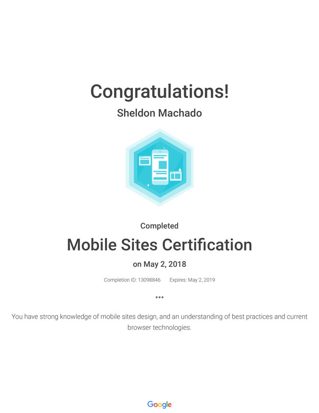 mobile-sites-certification